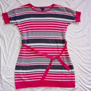 Striped Short Sleeved Old Navy Knit Sweater Dress